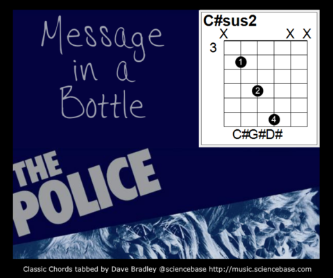 Classic Chords #12 – Message in a Bottle