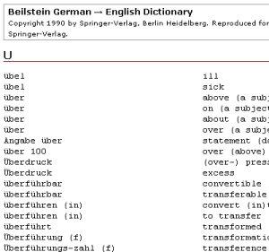 A German-English dictionary for chemists – David Bradley