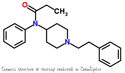 chemical-structure-of-fentanyl