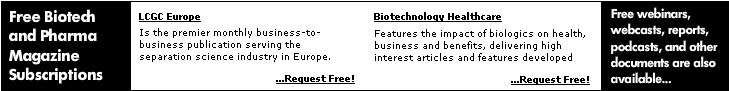 Free pharma and biotech magazines