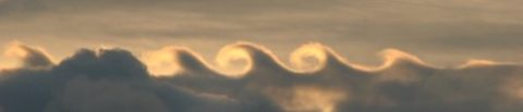 kelvin-helmholtz-wave-cloud by David Bradley