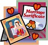 Marriage Certificate - cellulose