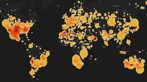 meteorite-map