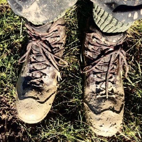 Dave Bradley's Muddy Boots