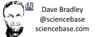 An image of David Bradley, science writer and 'blogger