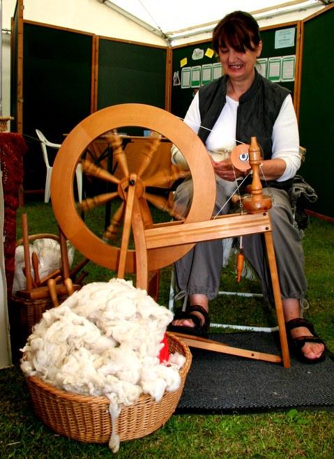 Spinning a Yarn - Photo by David Bradley
