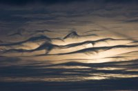 undulating clouds by David Bradley