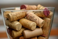 Wine corks (Photo by David Bradley)
